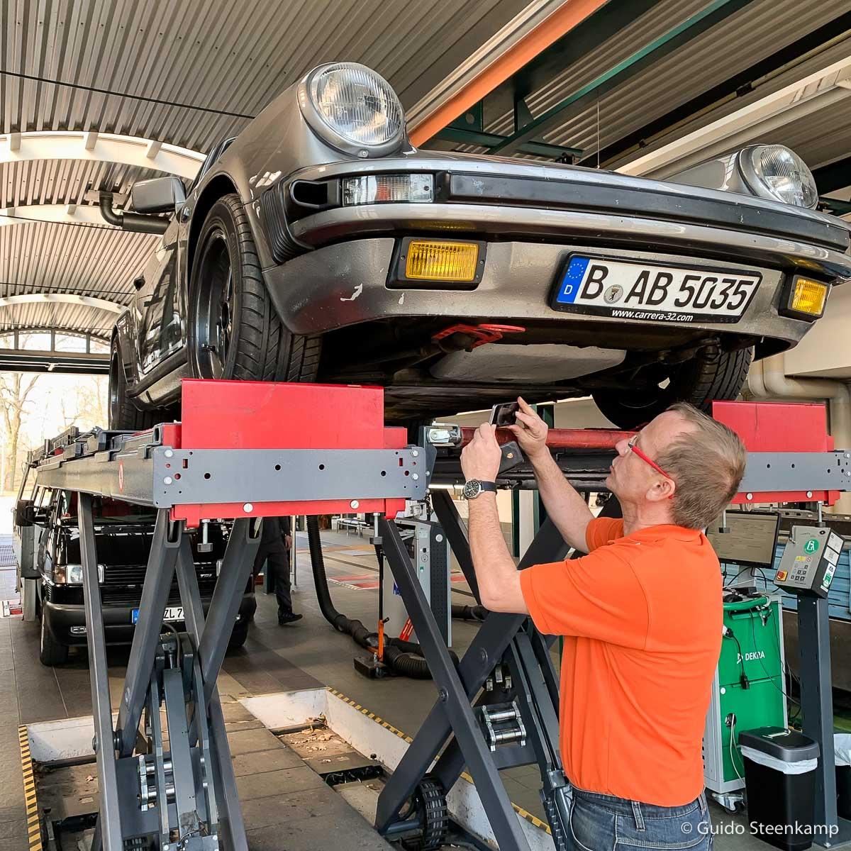 Porsche 911 H Kennzeichen